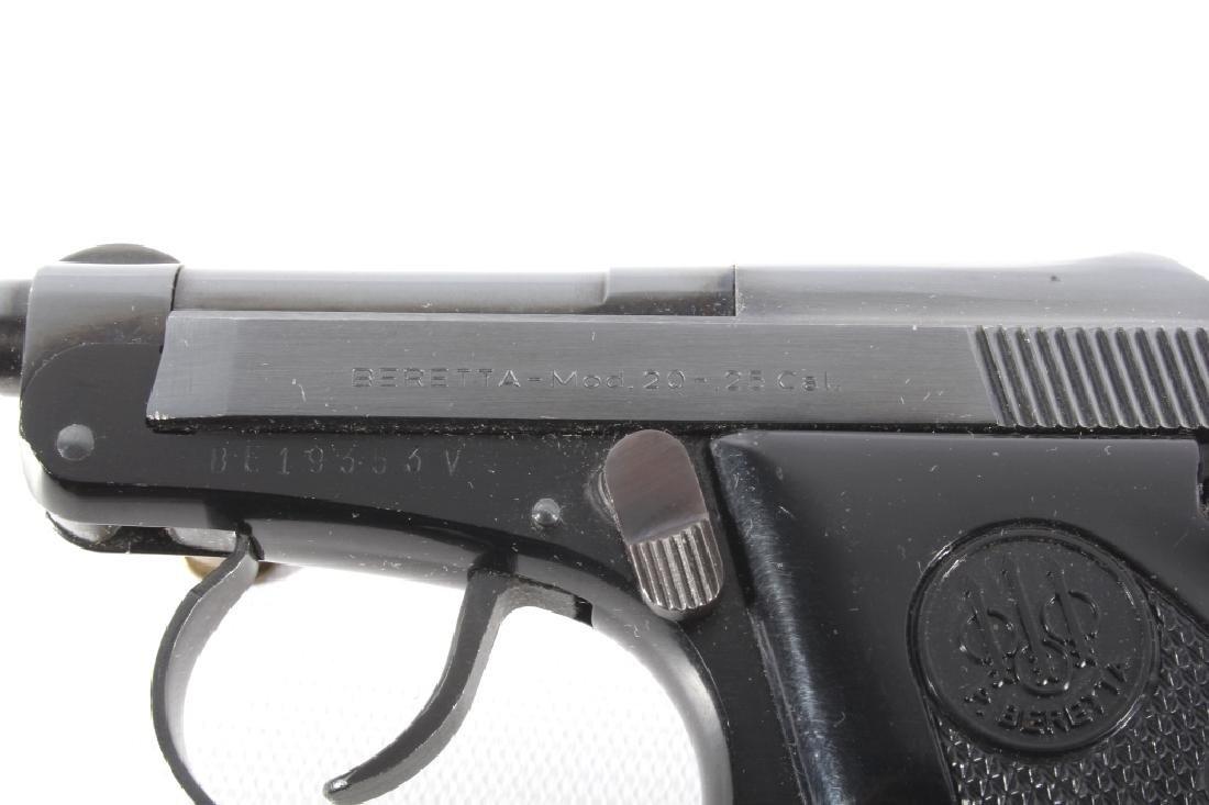 Beretta Model 20 .25 ACP Semi Auto Pistol LNIB - 9