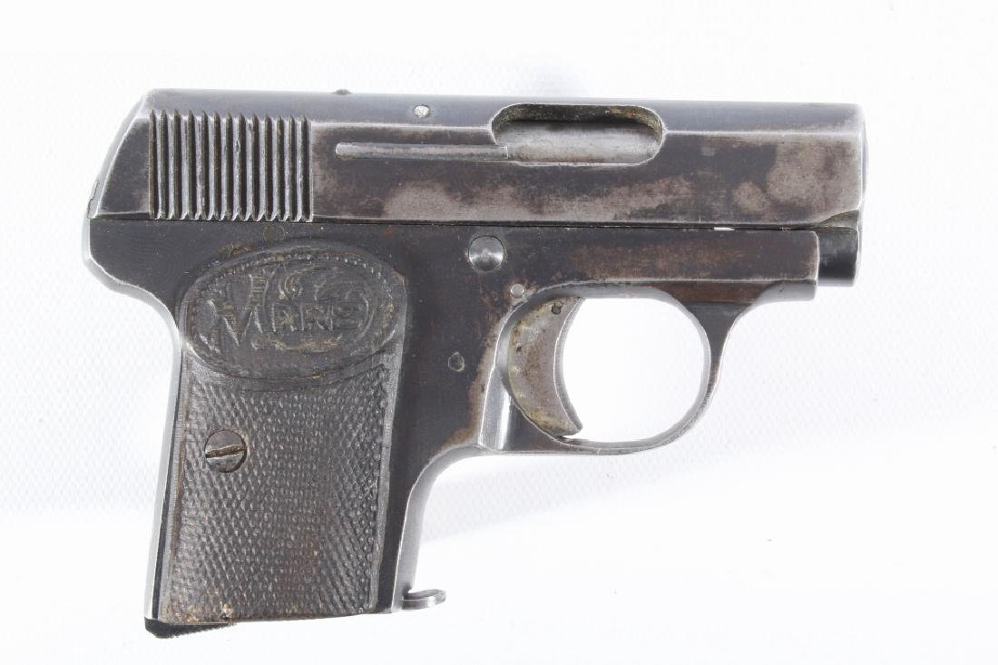 French Mars Pocket .25 ACP Semi Auto Pistol