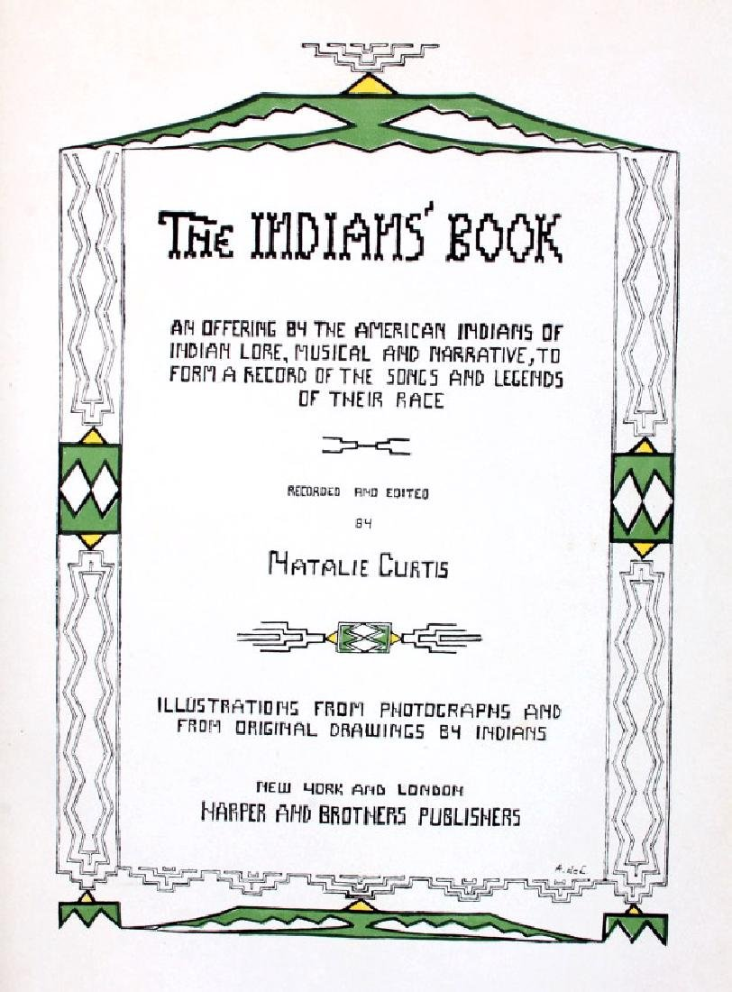 The Indians' Book by Natalie Curtis - 3