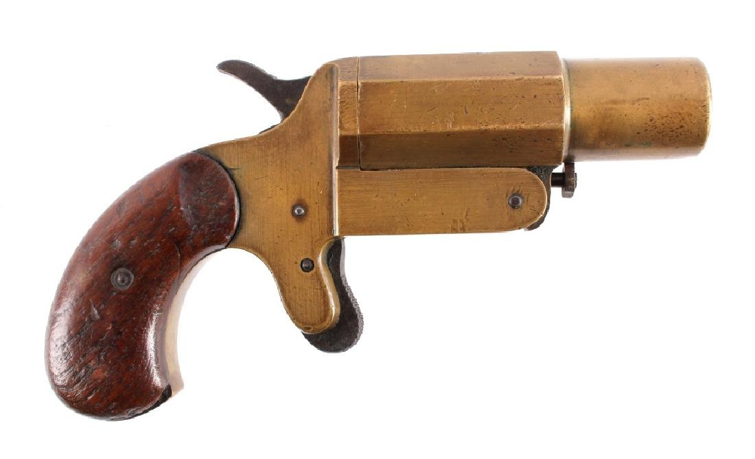WWI T&S 1915 Brass Flare Gun