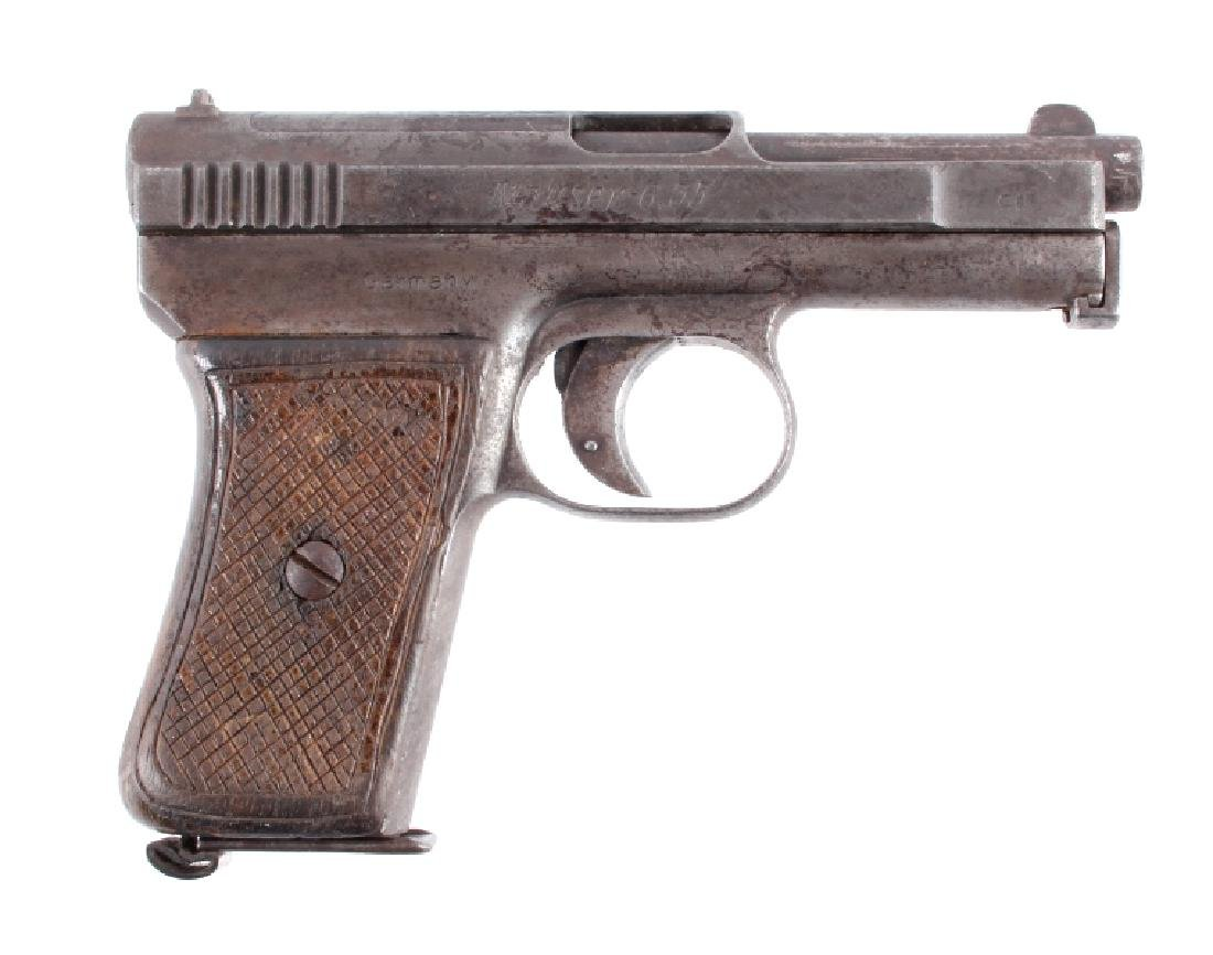 Mauser Model 1910 6.35mm Semi-Automatic Pistol