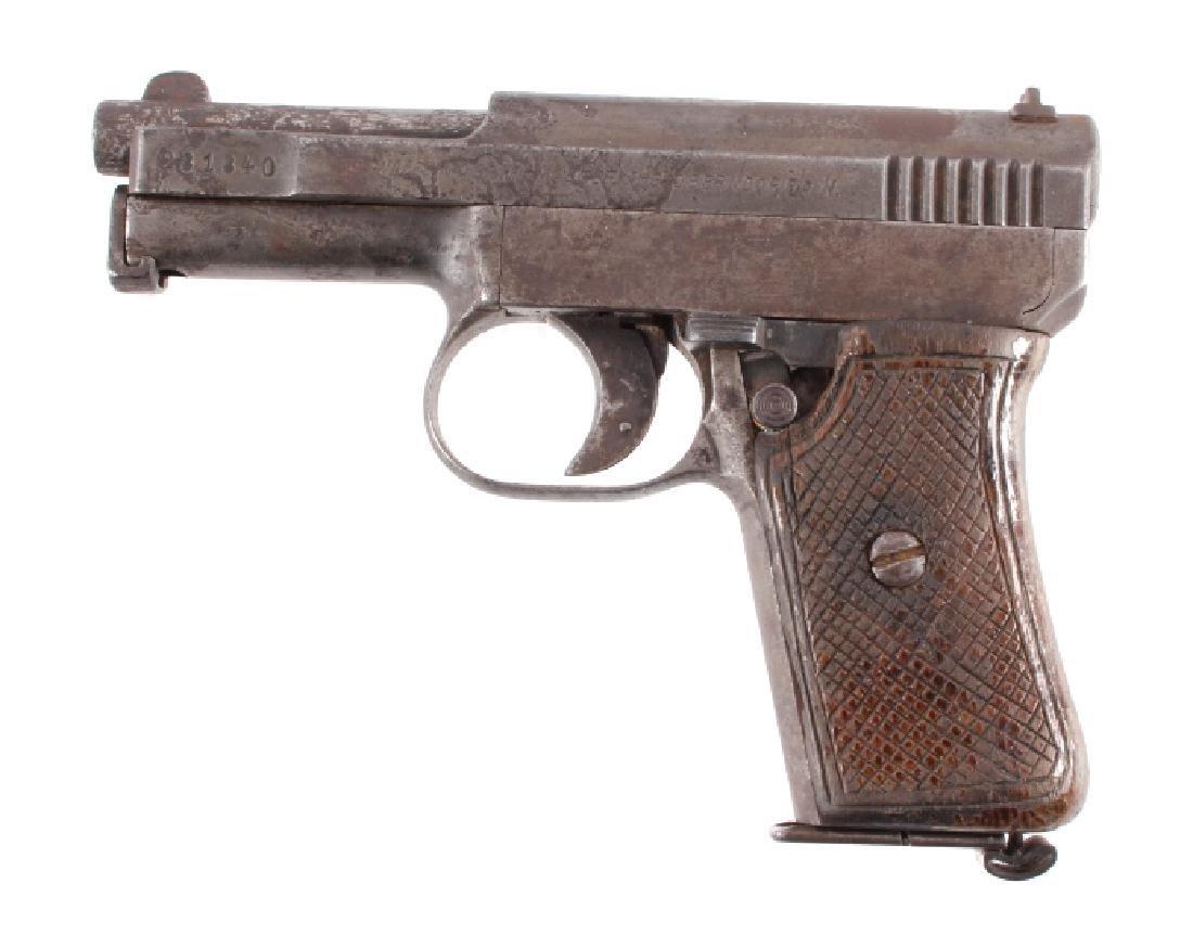 Mauser Model 1910 6.35mm Semi-Automatic Pistol - 2