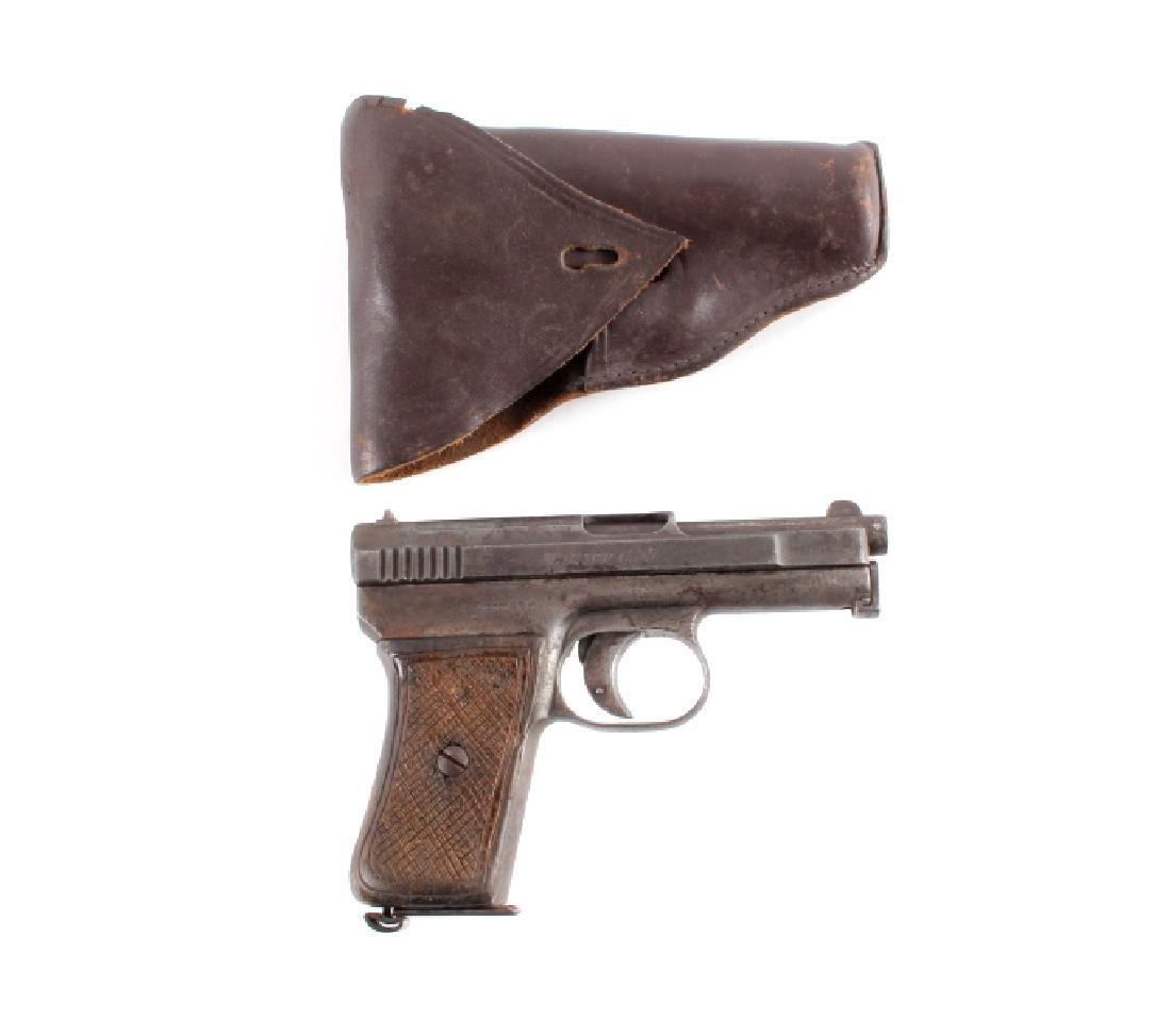 Mauser Model 1910 6.35mm Semi-Automatic Pistol - 3