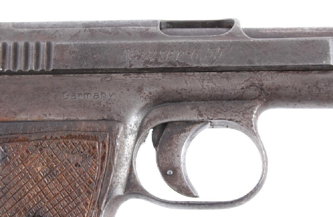 Mauser Model 1910 6.35mm Semi-Automatic Pistol - 4