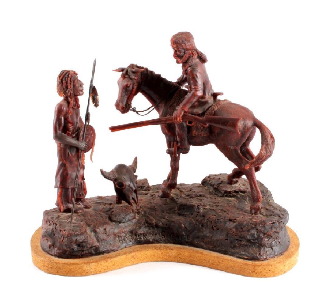 Original G.C. Wentworth Wax Sculpture