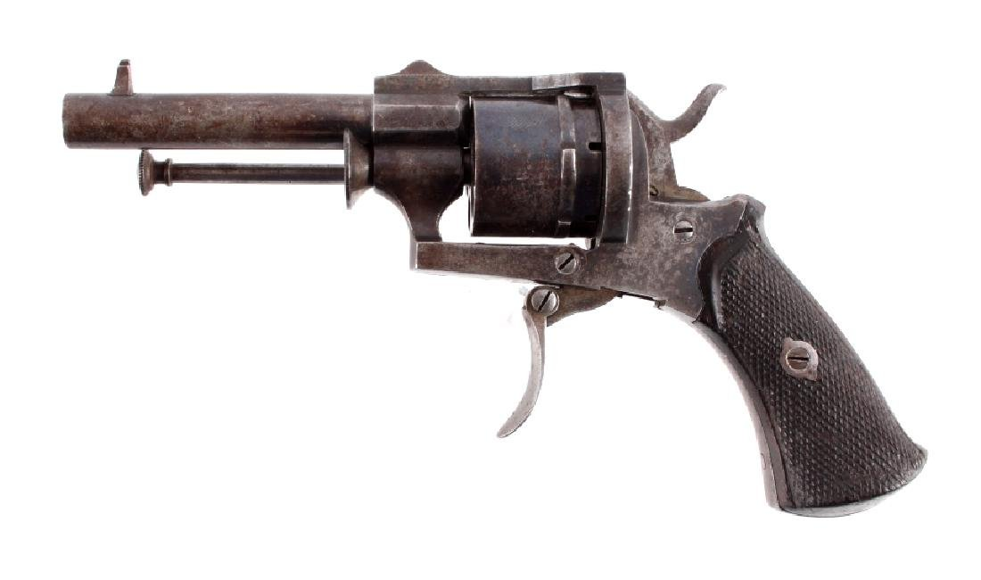 Antique Belgian 7mm Pinfire Revolver