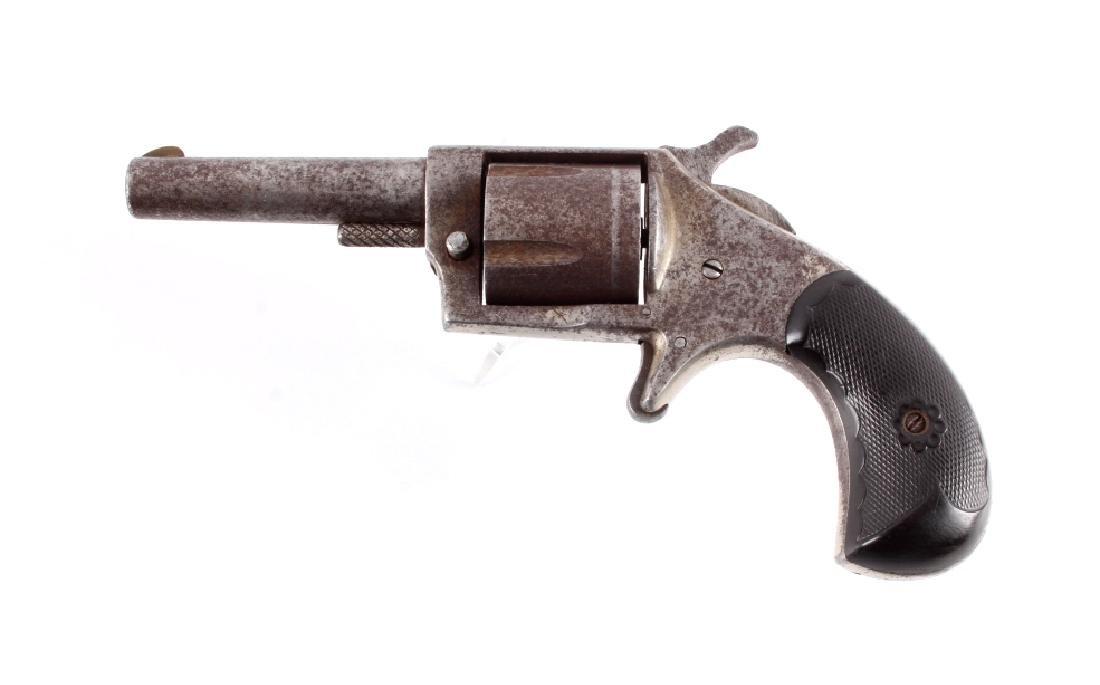 Continental 32 Spur Trigger Revolver 19th C.
