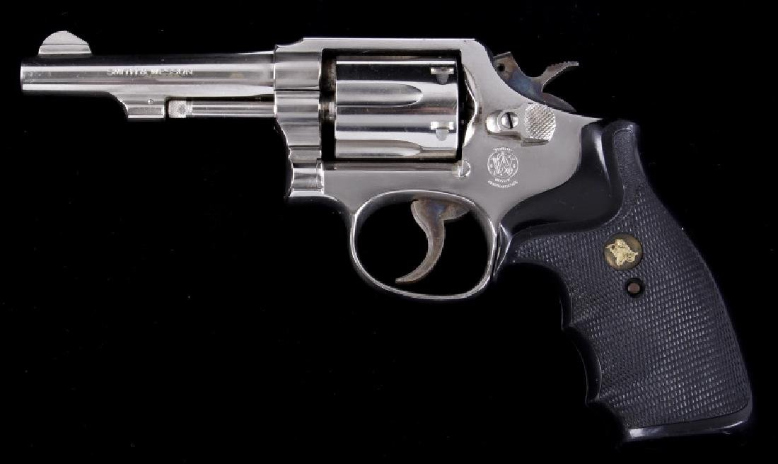 "Smith & Wesson Model 10-7 .38 Special 4"" Revolver"
