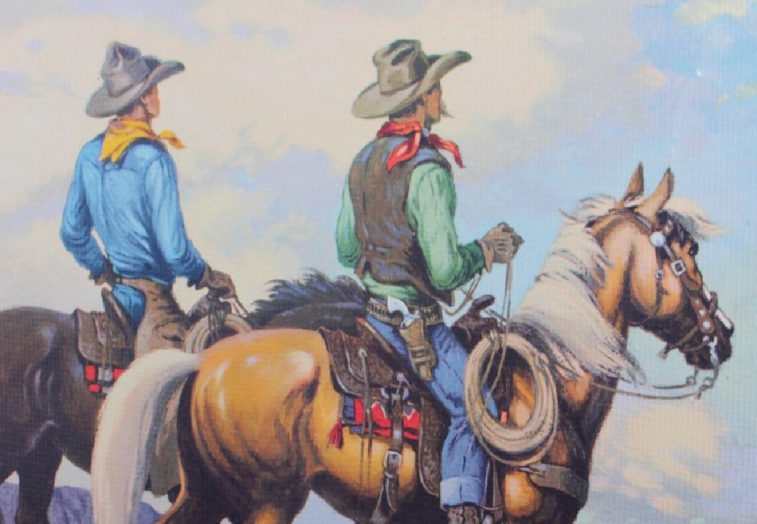 Till Goodan Westward Ho Cowboy Lithograph c.1939 - 4