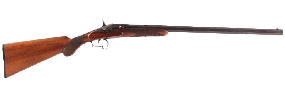 Engraved 19th C Warnant Flobert 32 RF Parlor Rifle