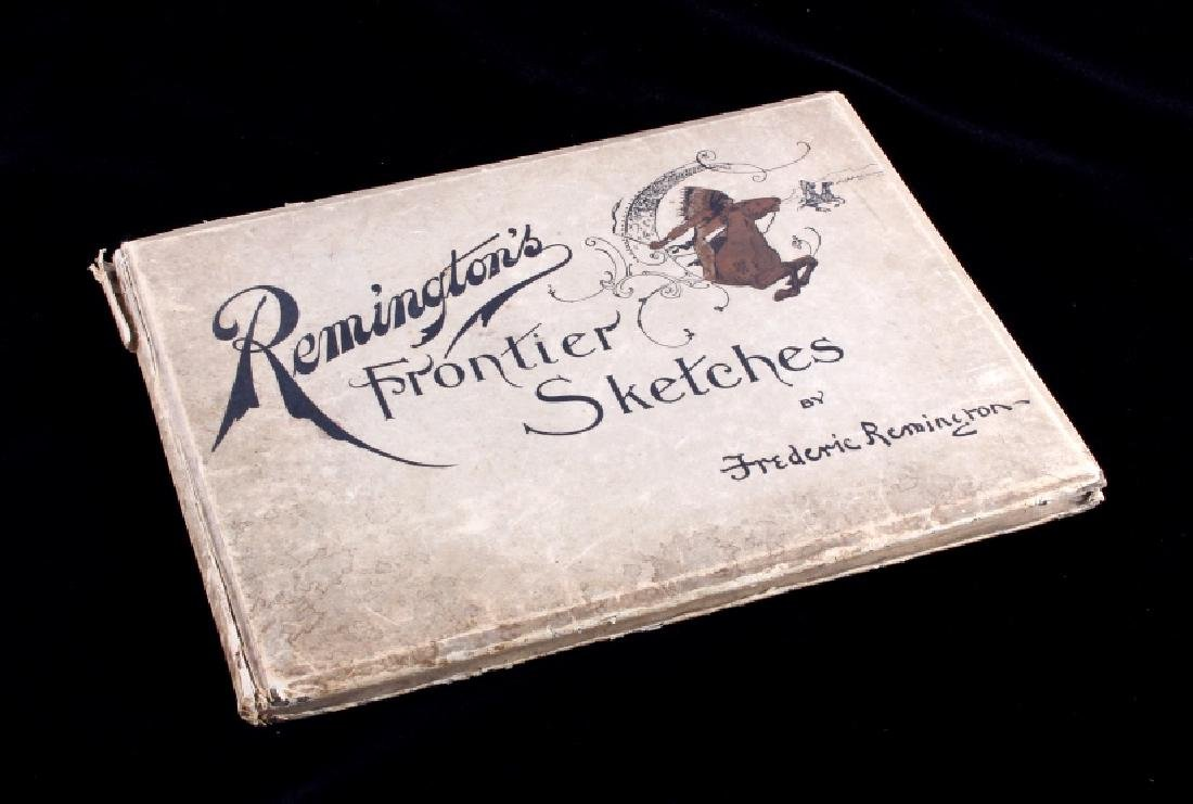 1898 Remington's Frontier Sketches