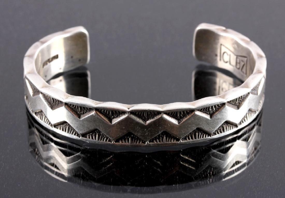 Santo Domingo Pueblo Sterling Silver Cuff