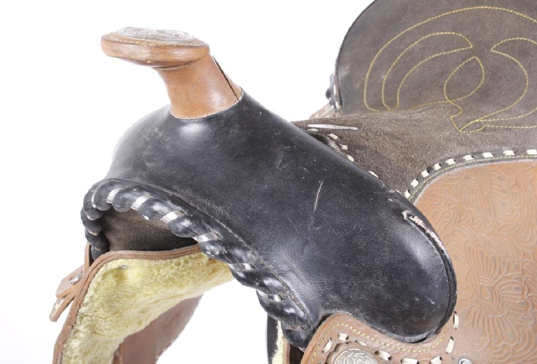 Western Ceremonial Parade Saddle by Eagle Original - 10