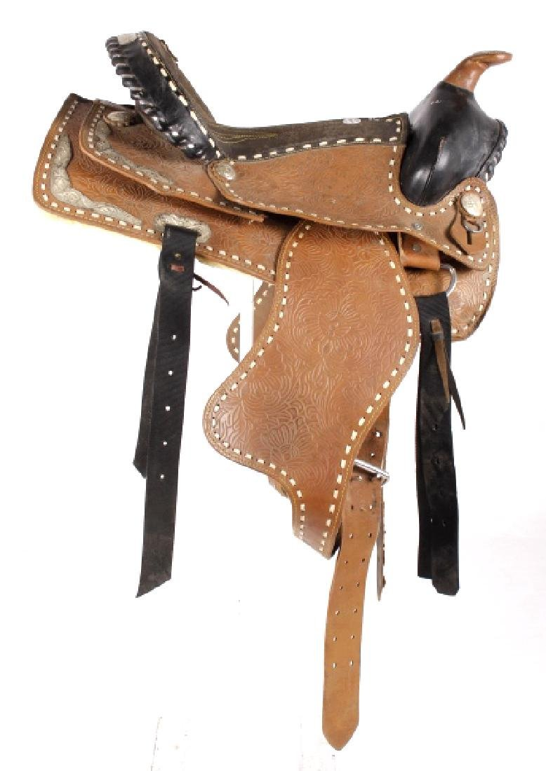 Western Ceremonial Parade Saddle by Eagle Original