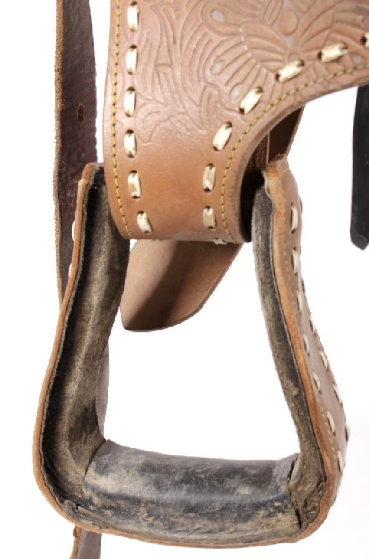 Western Ceremonial Parade Saddle by Eagle Original - 4