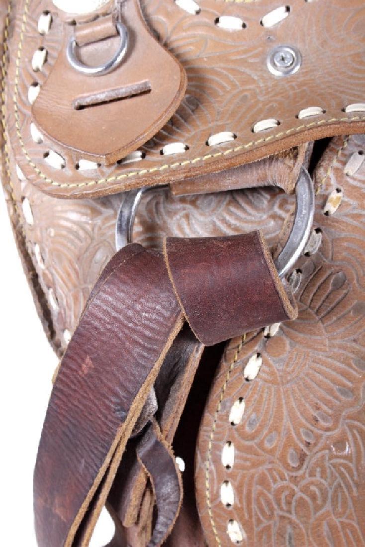 Western Ceremonial Parade Saddle by Eagle Original - 9