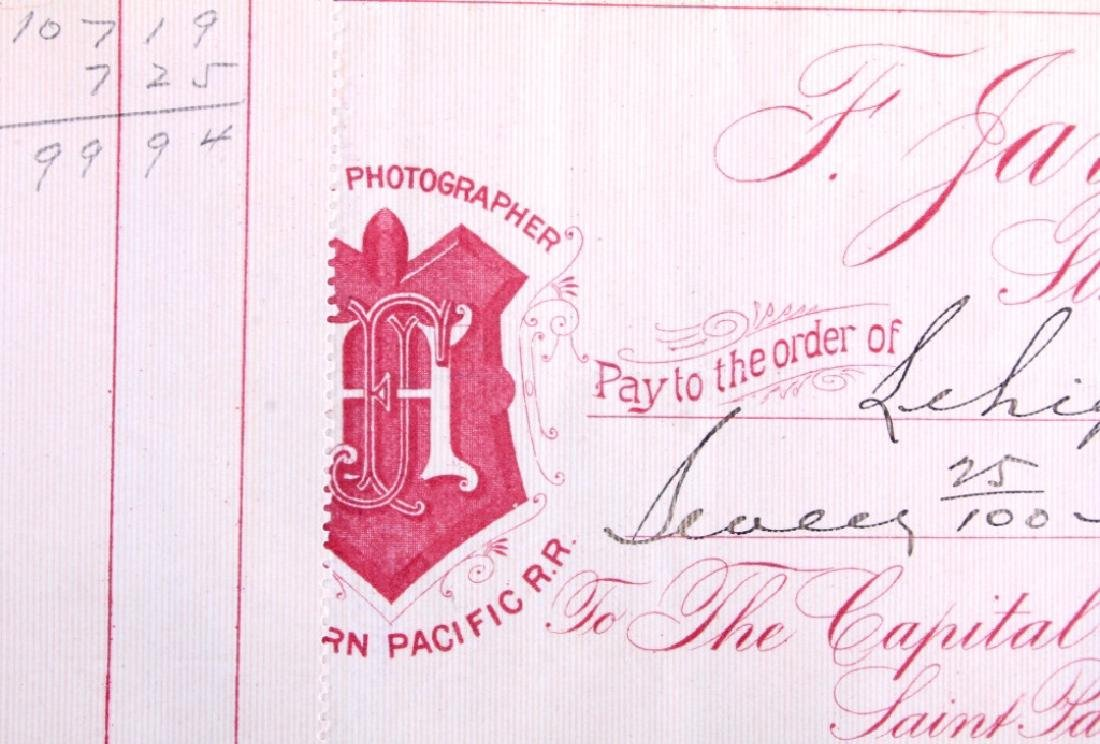 F. Jay Haynes Checkbook 1894 - 4