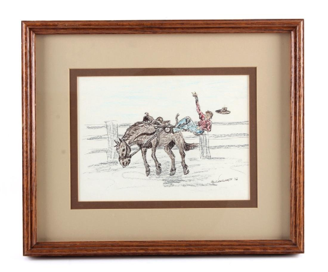 Original G.C. Wentworth Pen and Ink Sketches - 2
