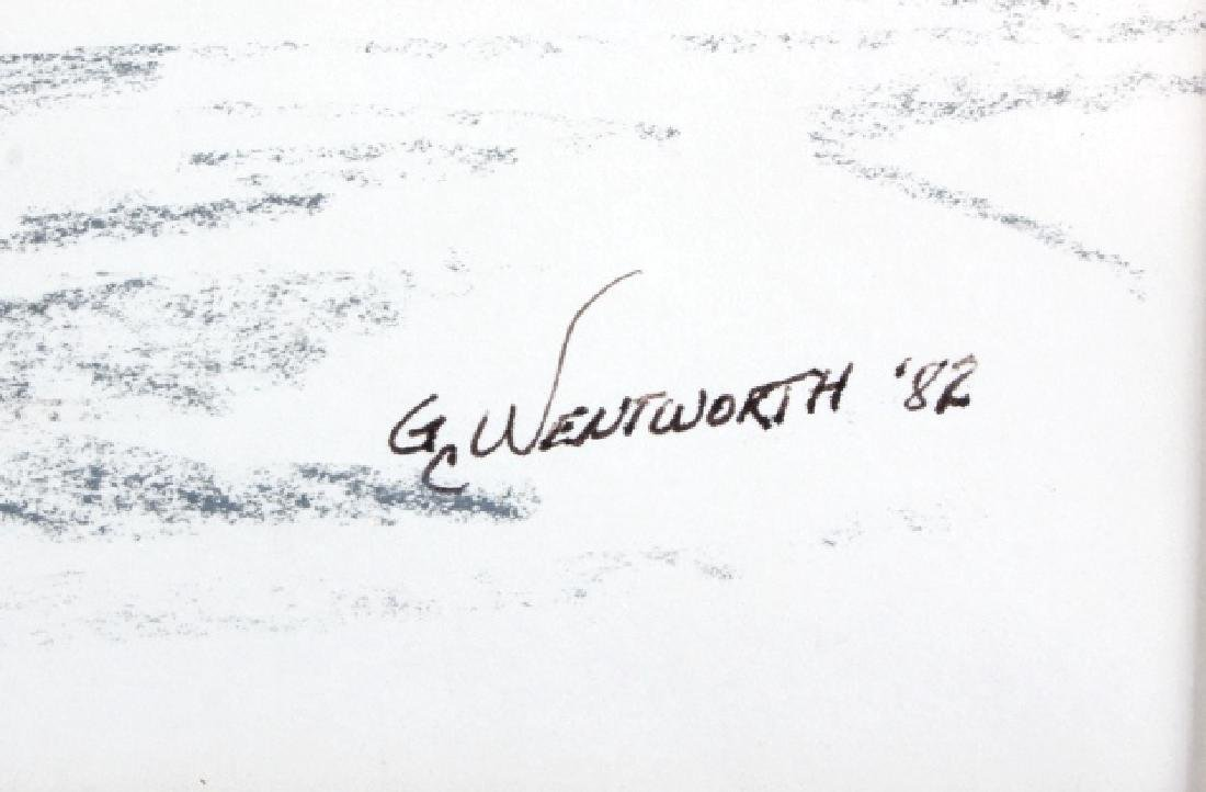 Original G.C. Wentworth Pen and Ink Sketches - 6