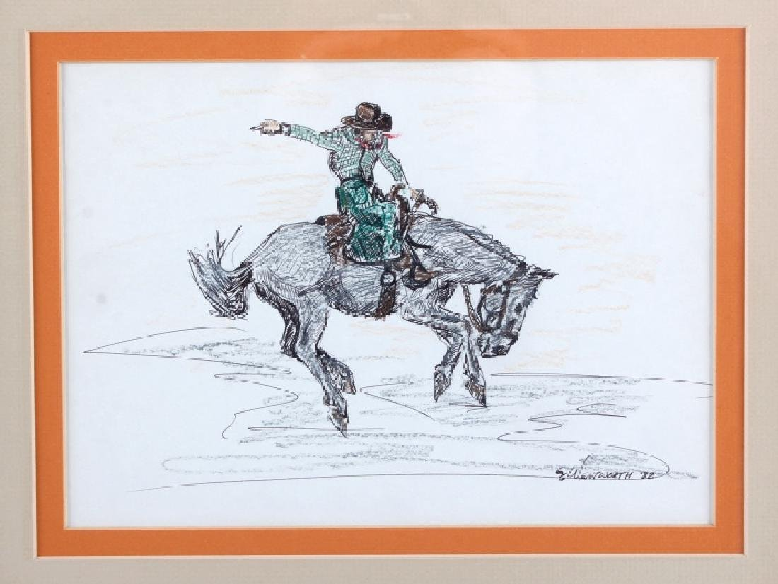 Original G.C. Wentworth Pen and Ink Sketches - 8
