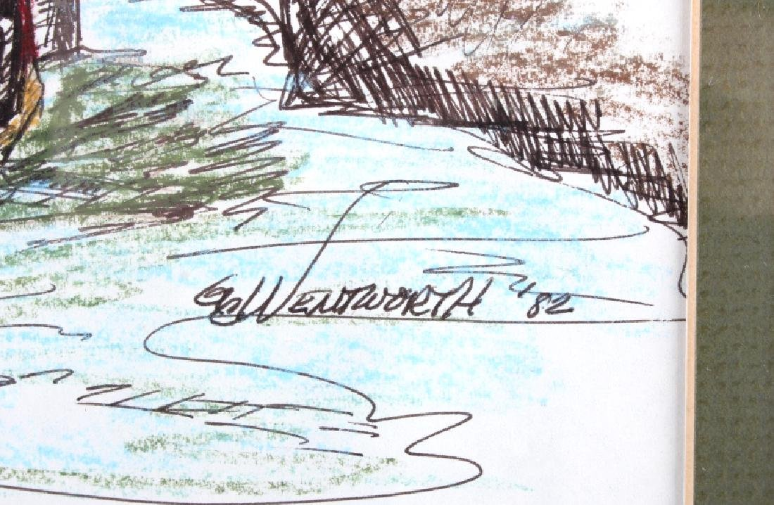 Original G.C. Wentworth Collection of Sketches - 5
