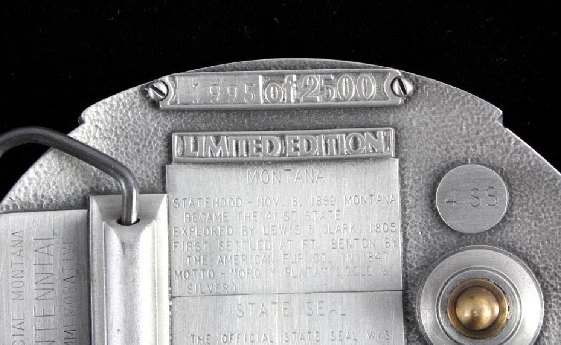 Montana Centennial Belt Buckle Collection - 7