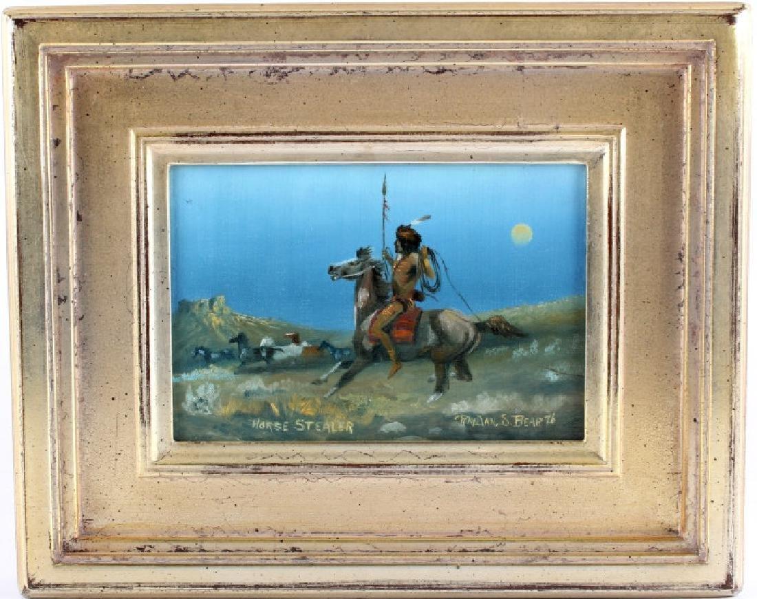 Original Raydan Native American Oil Painting