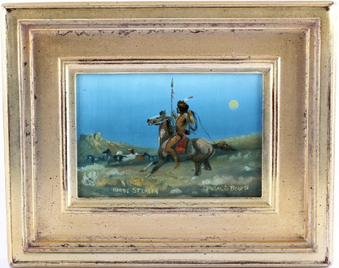 Original Raydan Native American Oil Painting