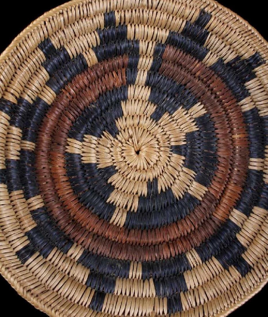 Hopi Indian Coil Plaque Navajo Wedding Basket 1950 - 3