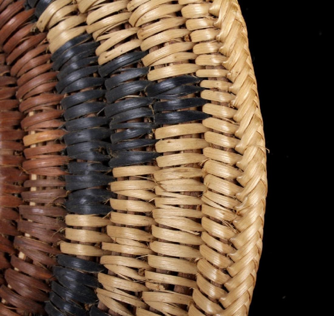 Hopi Indian Coil Plaque Navajo Wedding Basket 1950 - 4