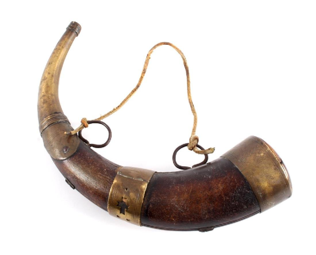 Antique Frontiersman Powder Horn