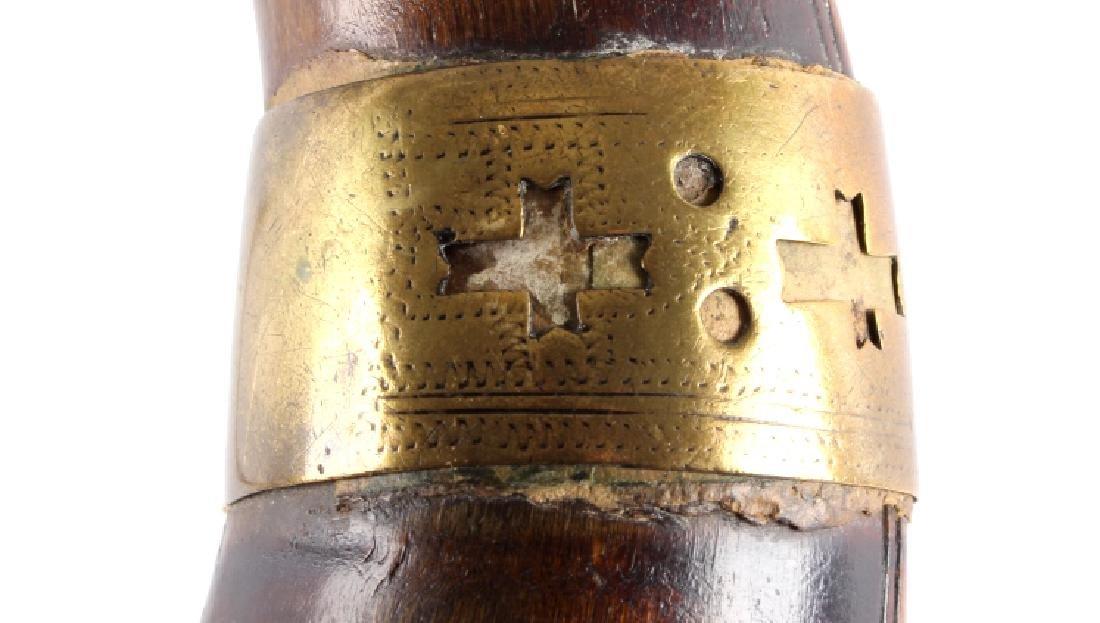 Antique Frontiersman Powder Horn - 3