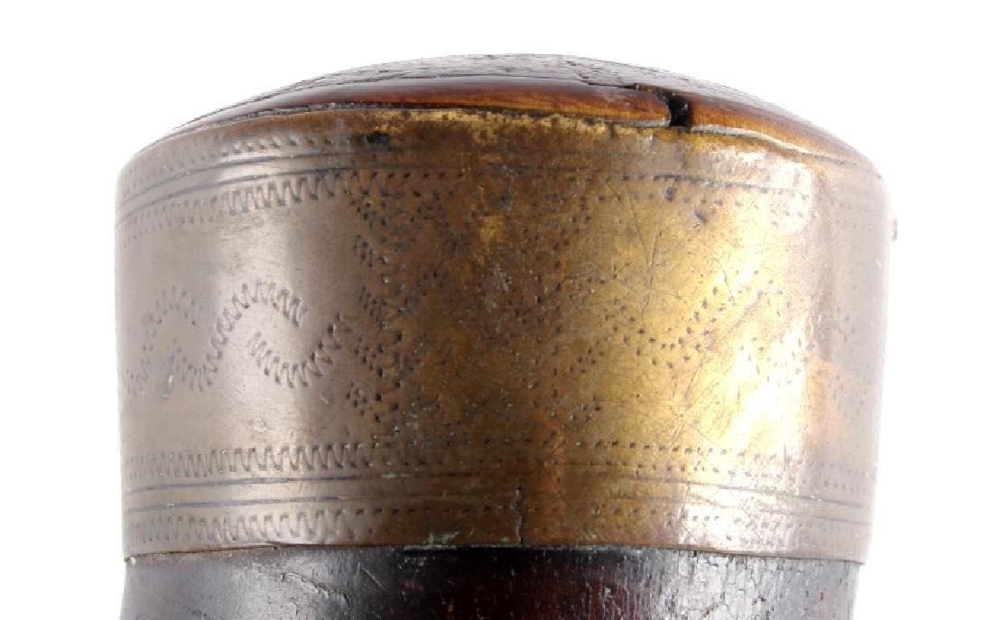 Antique Frontiersman Powder Horn - 6