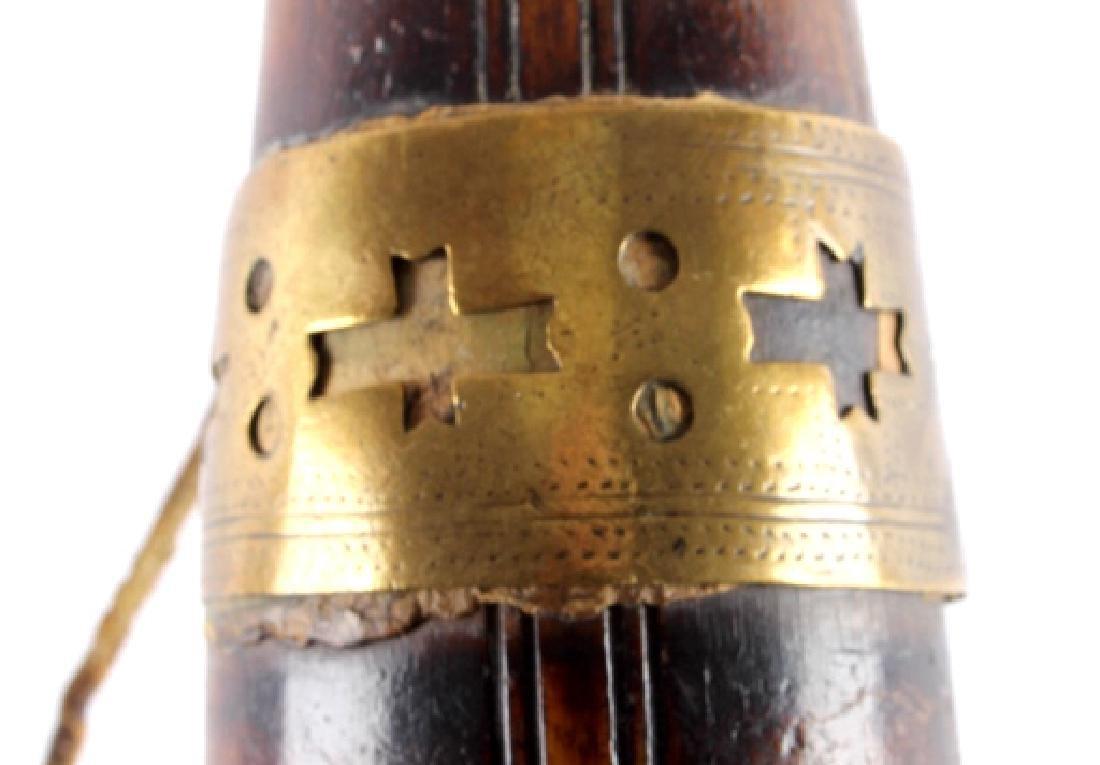 Antique Frontiersman Powder Horn - 7