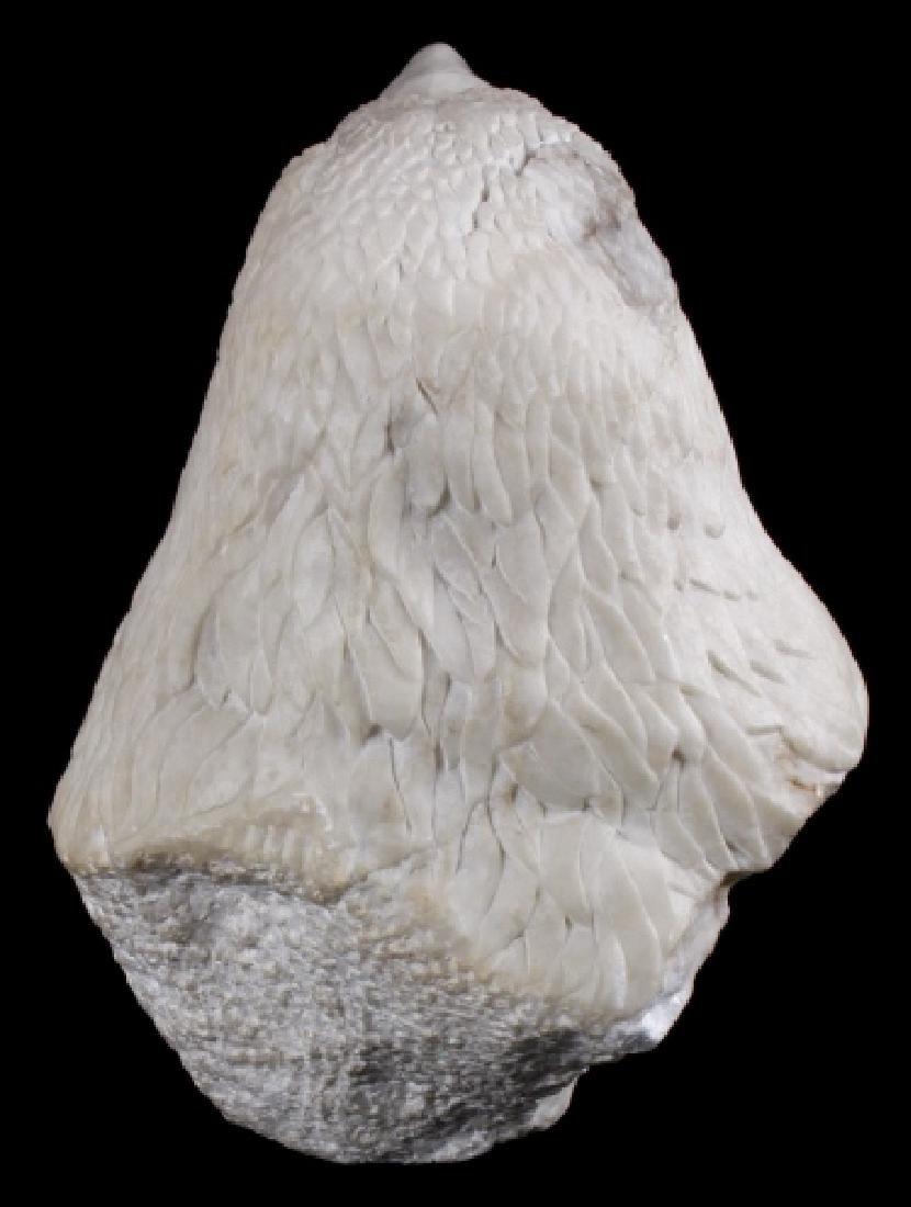 Native American Hand Carved Alabaster Bald Eagle - 3
