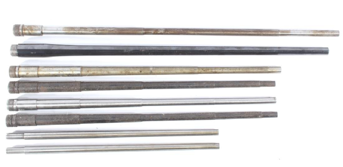 Eight Various Manufacturer Rifle Barrels