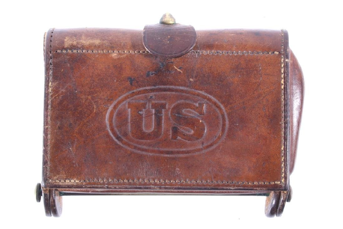 Spanish American War U.S. Army Leather Ammo Pouch