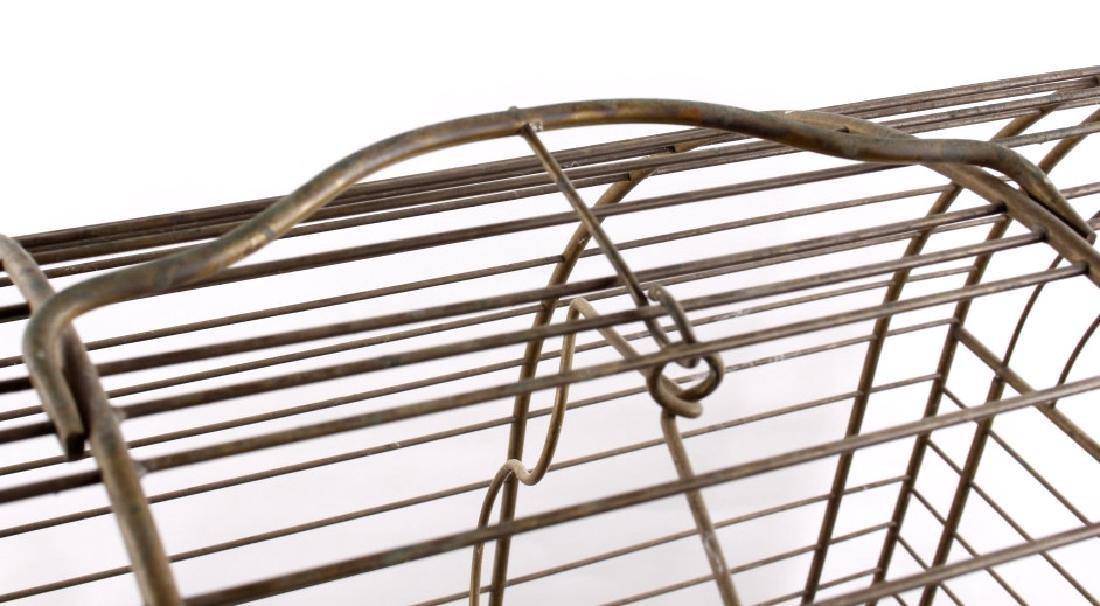 Antique 19th Century Brass Bird Cage - 6