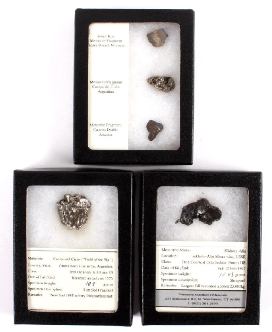 Collection of Meteorite Fragments - 2