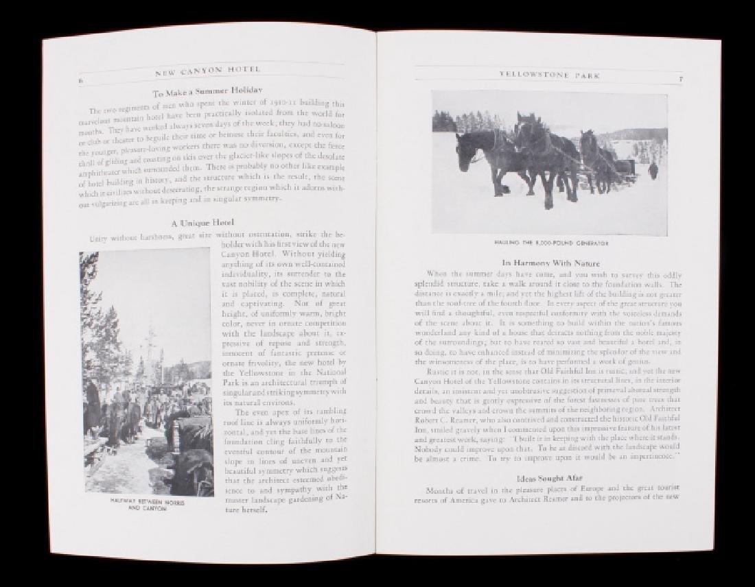 Yellowstone National Park Ephemera Collection - 10