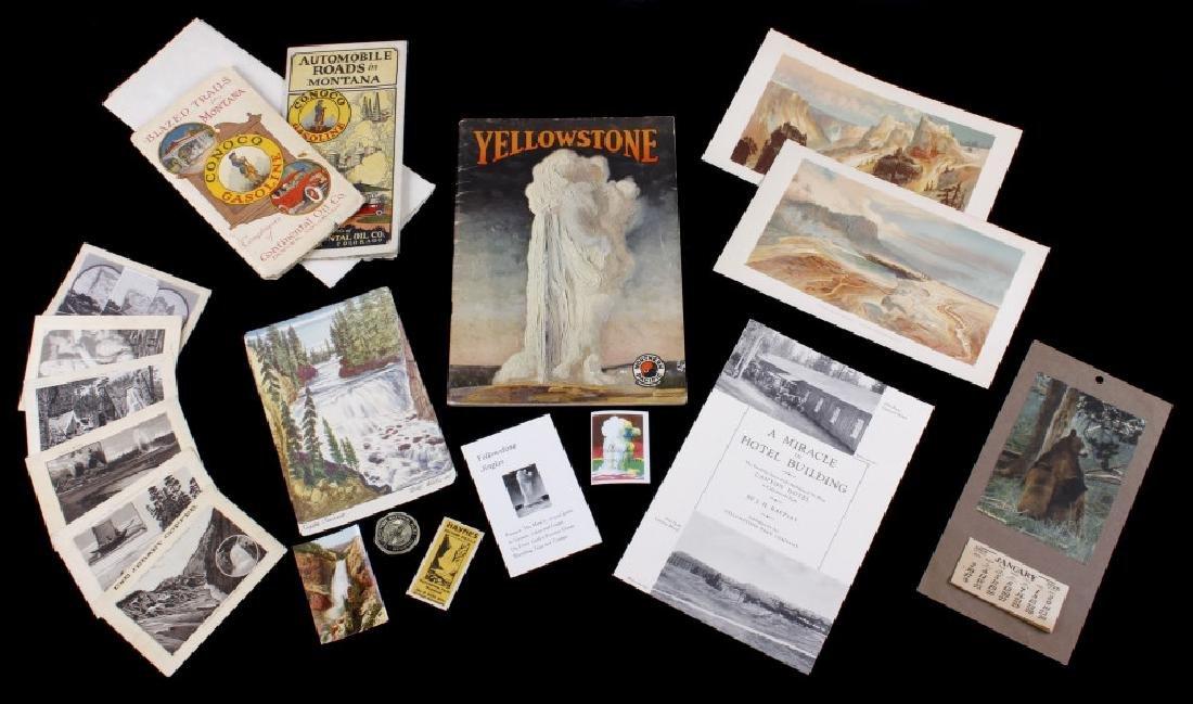 Yellowstone National Park Ephemera Collection