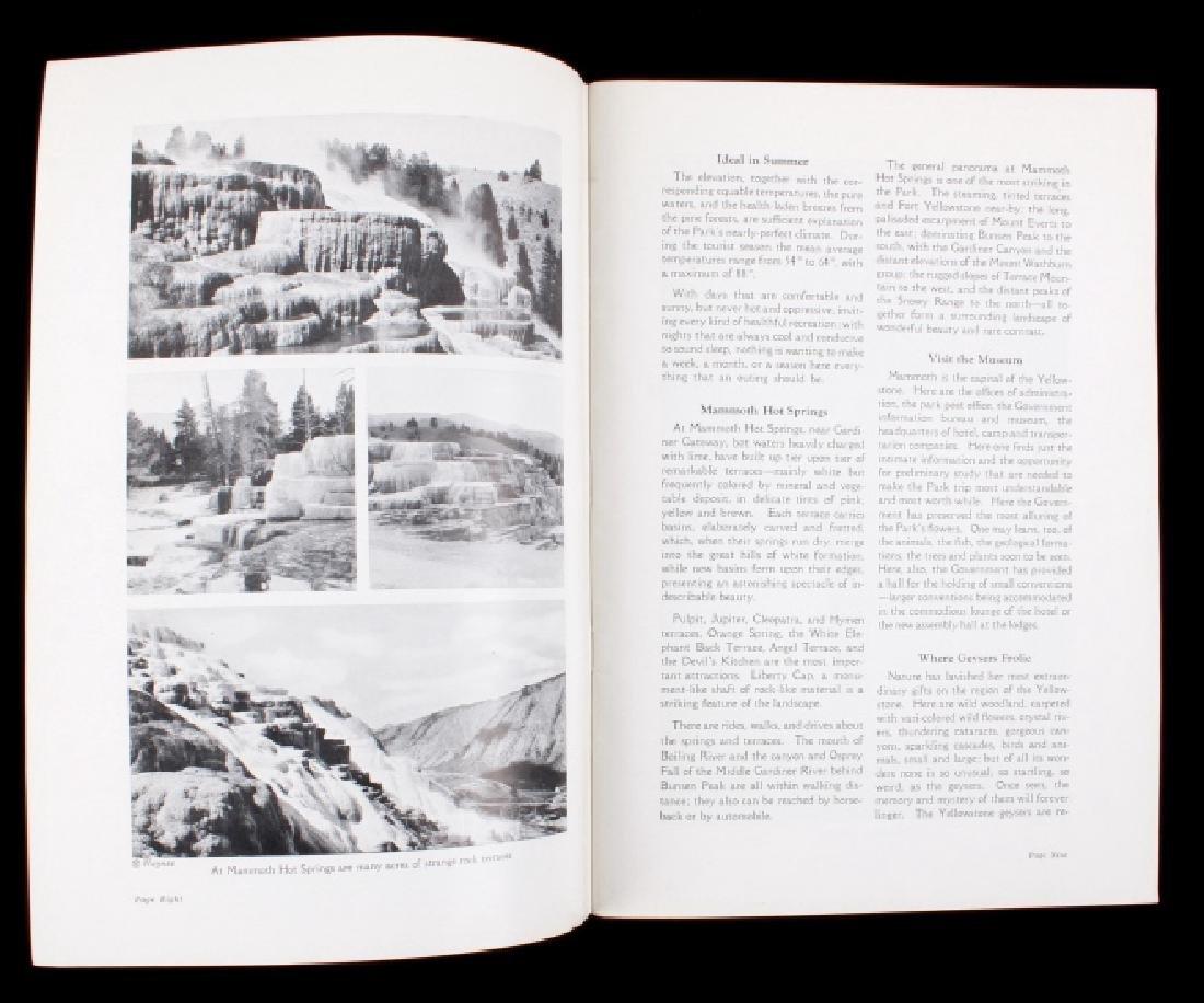 Yellowstone National Park Ephemera Collection - 5