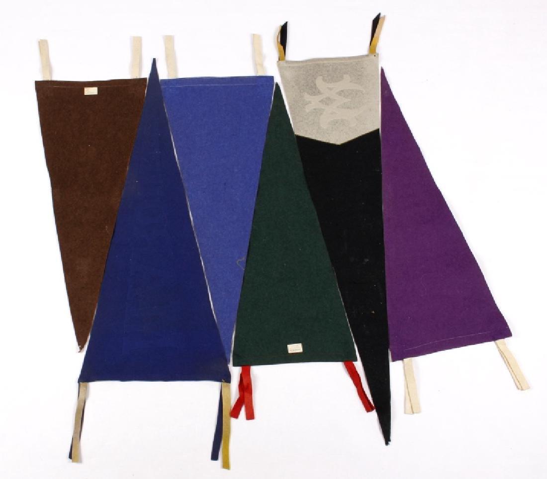 Antique University Pennant Flags - 2