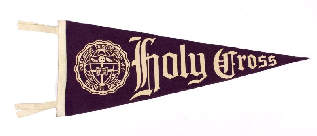 Antique University Pennant Flags - 3