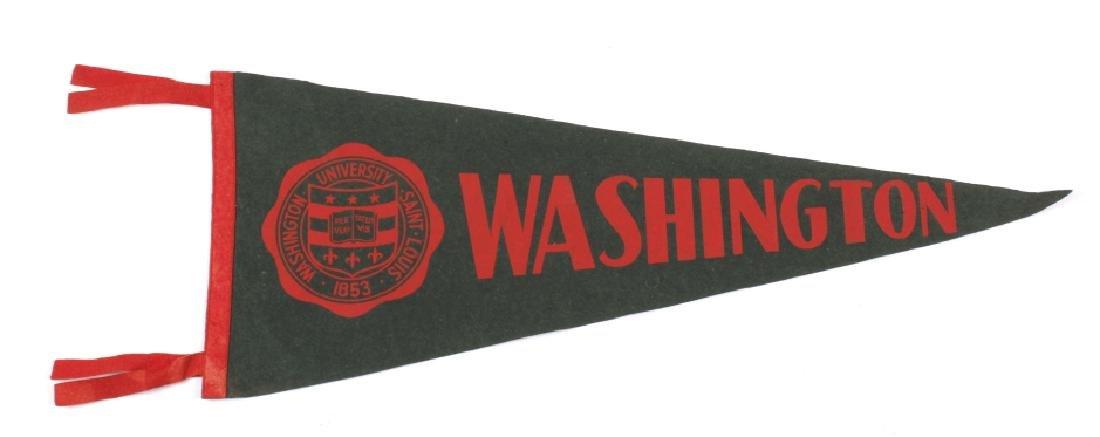 Antique University Pennant Flags - 5