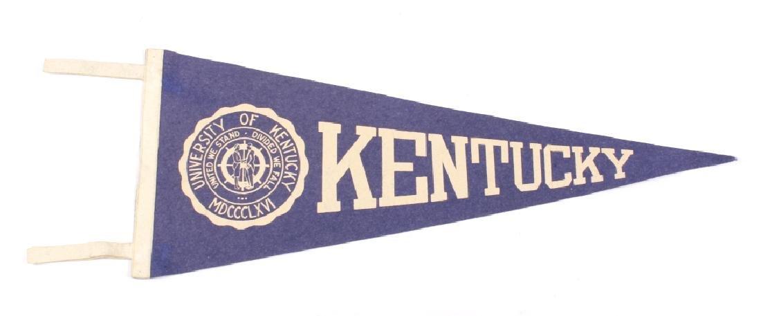 Antique University Pennant Flags - 6