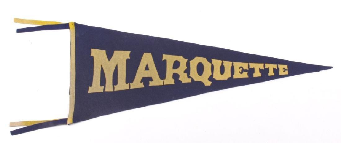 Antique University Pennant Flags - 7