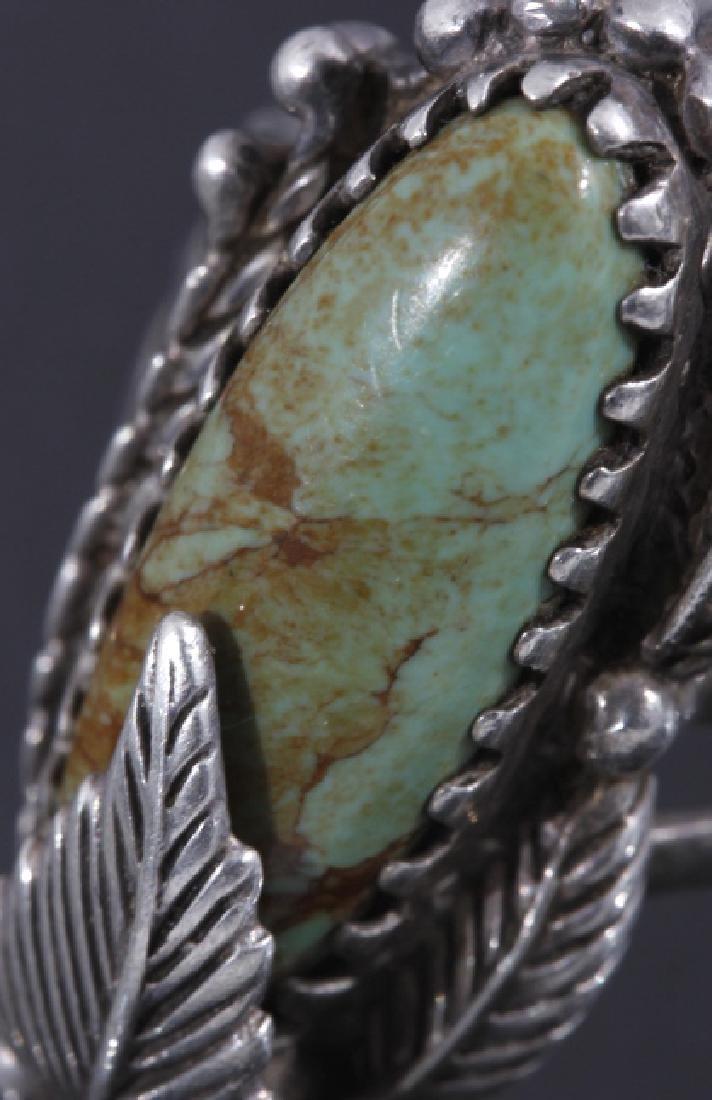 Carol Felley Navajo Cripple Creek & Sterling Ring - 2