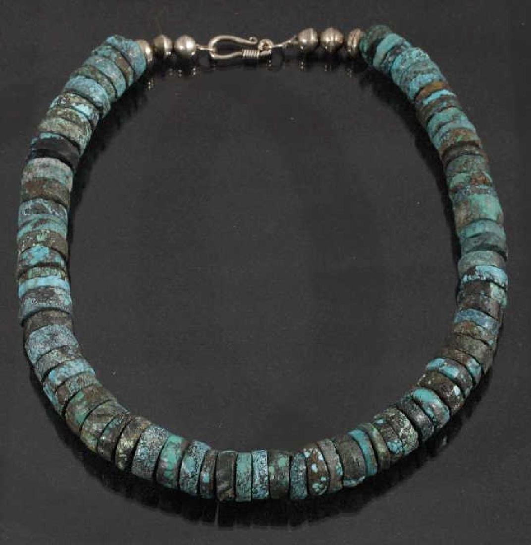 Cripple Creek & Kingman Turquoise Bead Necklaces - 2