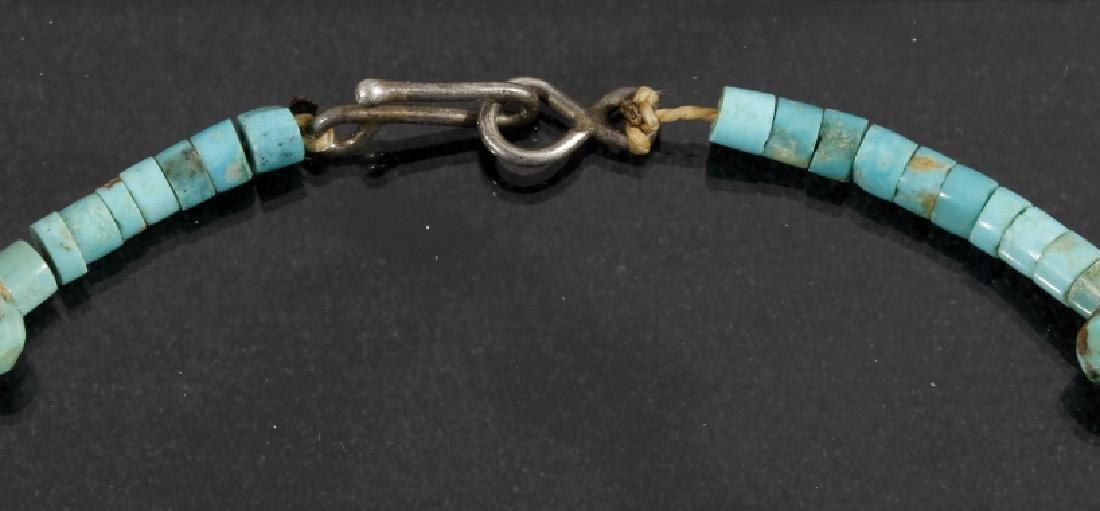 Cripple Creek & Kingman Turquoise Bead Necklaces - 8